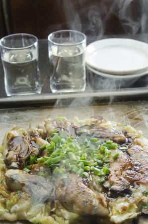 okayama: Hinase Oyster Okonomiyaki Okayama