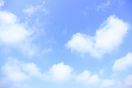 blauer himmel mit wolken: Blue Sky Wolken