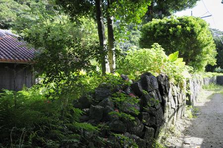 ryukyu: Okinawa of old stone walls and old houses