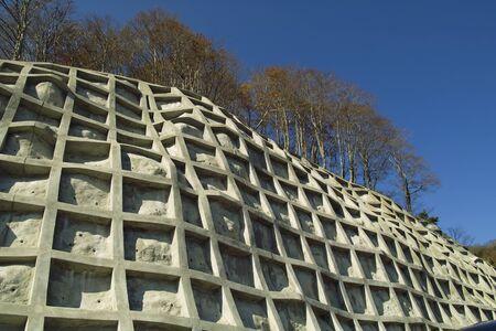 retaining: Retaining wall