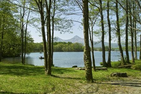 lakeside: Sohara lakeside Stock Photo