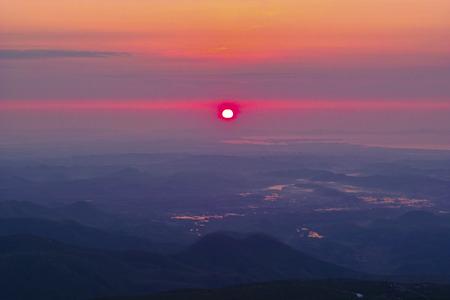 amanecer: Dawn of Sendai Foto de archivo