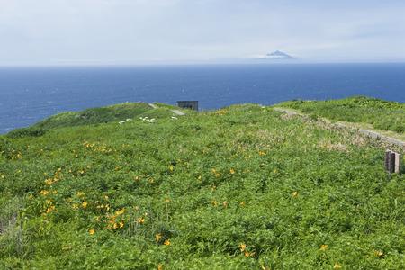 i hope: I hope Rishiri Island from Teuri Island