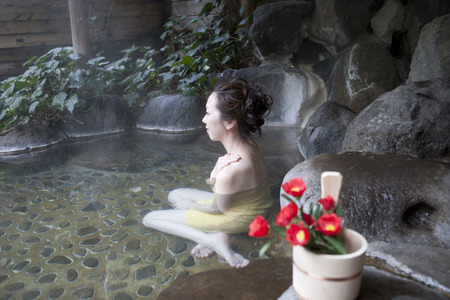 hot asian: Yufuin Onsen and women