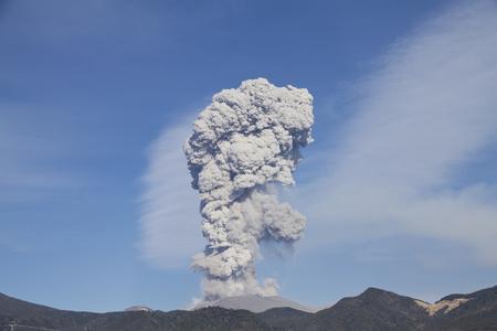 eruption: Eruption of Shinmoedake