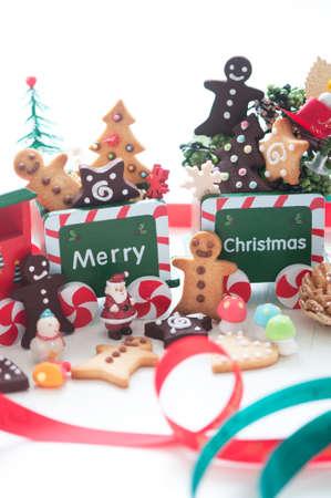 christmas train: Christmas Train Stock Photo