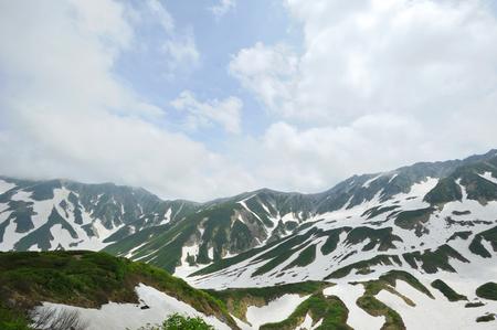 lingering: Tateyama Mountain range
