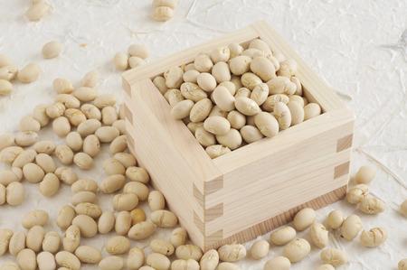 glycine: Setsubun beans Stock Photo