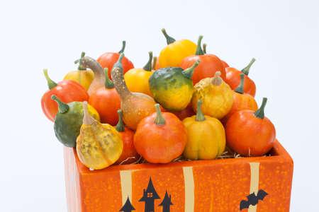 plural number: Halloween Pumpkin Stock Photo
