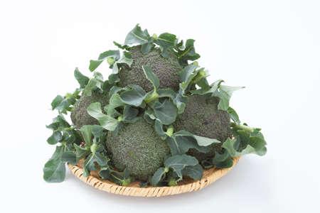 abound: Broccoli had to colander Stock Photo