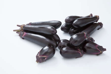 plural number: Three kinds of Eggplant
