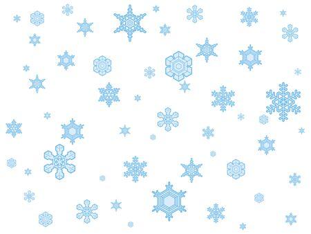Snow Crystal Banco de Imagens