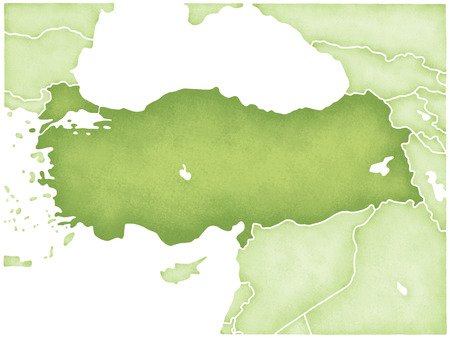 anatolia: Turkey Map