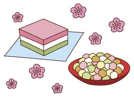 hail: The hail Hishi Mochi and chick