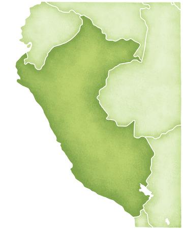 mapa del peru: Per� mapa