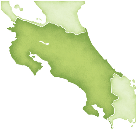 costa: Costa Rica map