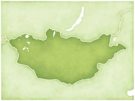 mongolia: Mongolia Map