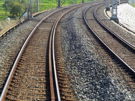 curve line: Line of sharp curve