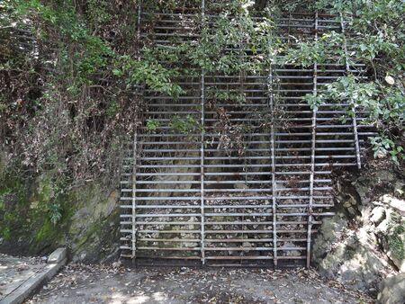 rockfall: Fence of rockfall prevention
