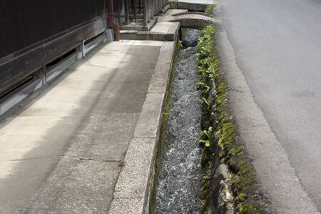 drainage: Life drainage of residential area