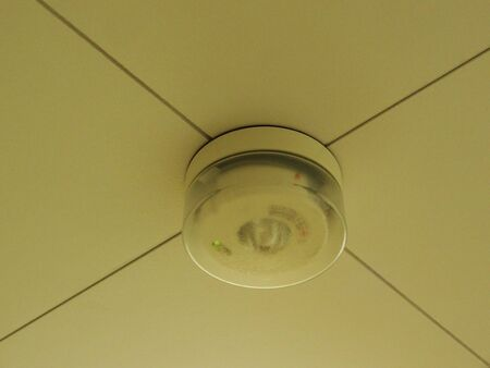 firebox: Fire alarm in the room ceiling