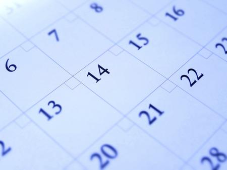 a calendar: Calendar Stock Photo