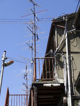 housing lot: Apartment flood the TV antenna