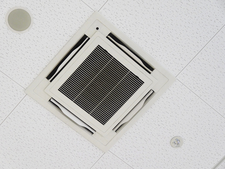Beautiful built-in air conditioning Banco de Imagens