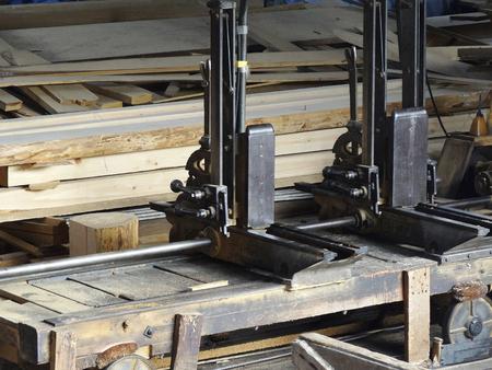sawmill: Electric saw sawmill