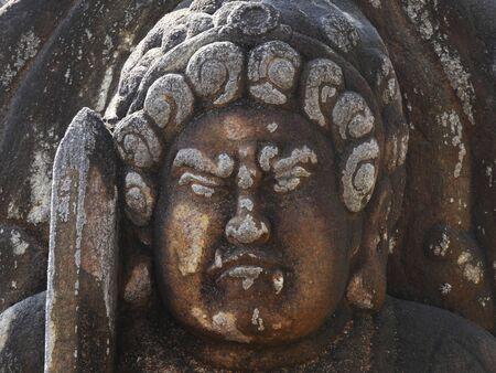 immovable: Immovable Akira statue Stock Photo
