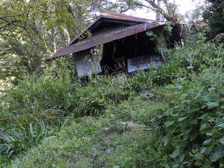 derrumbe: Hut que se colapse natural