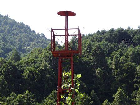 watchtower: Rural watchtower Stock Photo