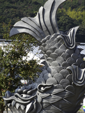 monuments: Shachihokokawara monuments
