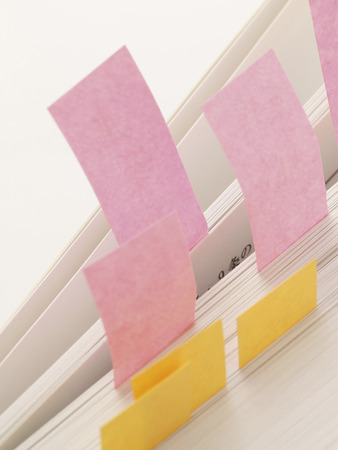 postit note: Sticky notes