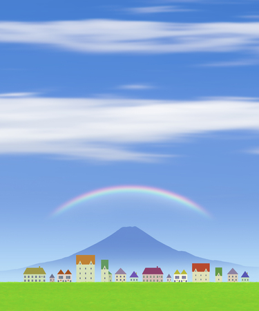 residency: Streets and rainbow