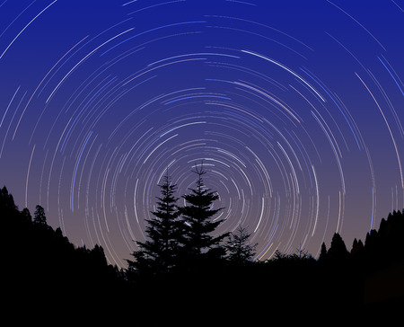 diurnal: Star of diurnal motion
