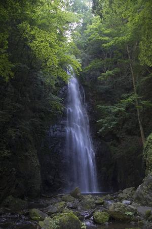 百尋の滝 写真素材
