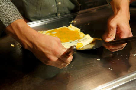however: However rolled egg making