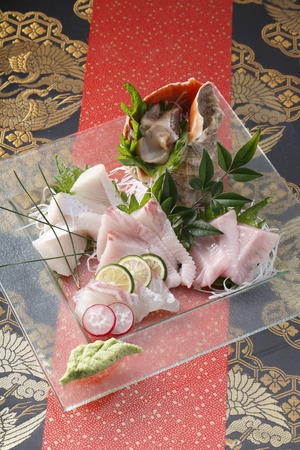 unprocessed: Sashimi platter