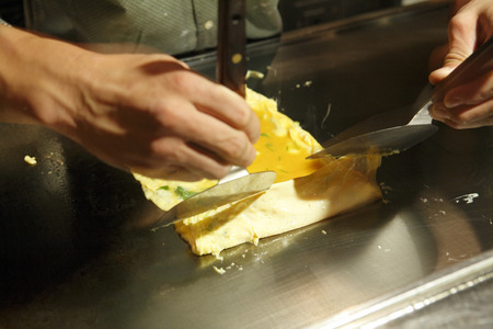 dashi: However rolled egg making