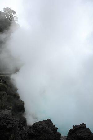 to hell: Beppu de aguas termales demonios mar