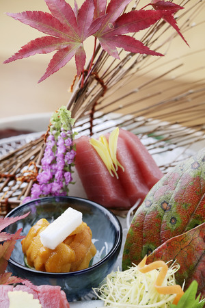 unprocessed: Japanese sashimi platter
