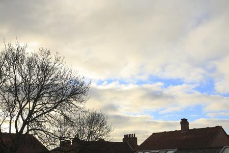 united kingdom: United Kingdom winter sky