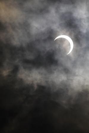 solar eclipse: Annular solar eclipse portion food