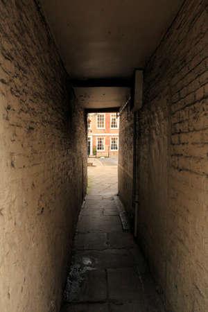 back alley: Back alley