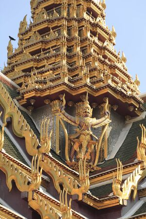 garuda: Garuda decoration of the Royal Palace roof