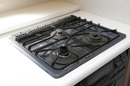 Gas stove Standard-Bild