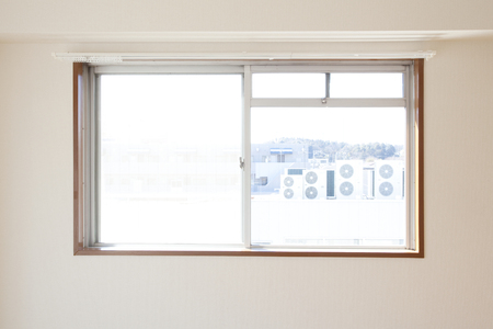 living room window: Of living room window