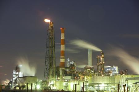 Industrial facilities Standard-Bild