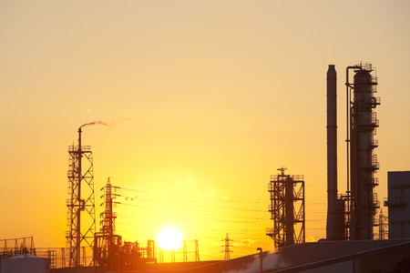 setting  sun: Industrial facilities and the setting sun